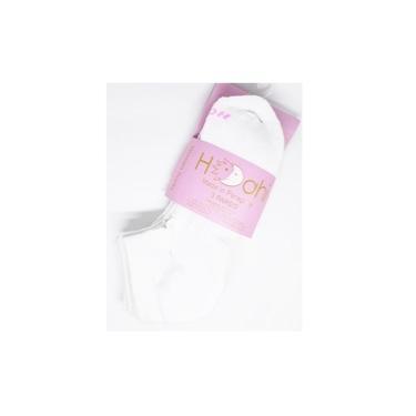 Imagem de Kit 3 Meias Premium Femininas Cano Curto branca - Hoahi