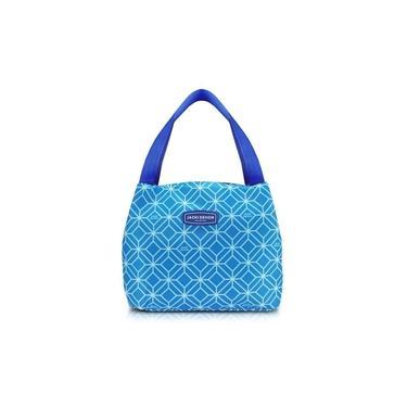 Imagem de Bolsa Térmica Feminina Jacki Design Marmita - Azul Claro