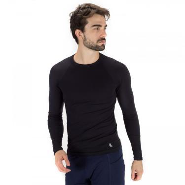 Camisa Térmica Manga Longa Lupo Run - Masculina Lupo Masculino