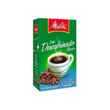 Cafe em Po Descafeinado 250g 1 Pacote Melitta