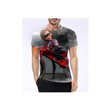 Camisa Camiseta Mulher Elástica Os Incríveis Filme Violeta