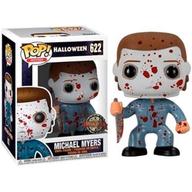 Imagem de Funko Pop! Filmes: Halloween - Michael Myers (Bloody Exclusive) #622