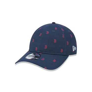 5928bb0b8 BONE 920 BOSTON RED SOX MLB ABA CURVA STRAPBACK MARINHO NEW ERA