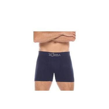 Cueca Boxer Sem Costura com Algodão - Zorba 781