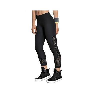 Roupa Academia Feminina Calça Legging Capri Ginástica Fitness Lupo 71583