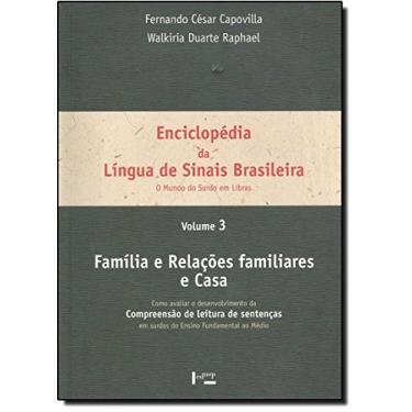 Enciclopedia Da Lingua De Sinais Brasileira Volume3 - Capa Comum - 9788531408557
