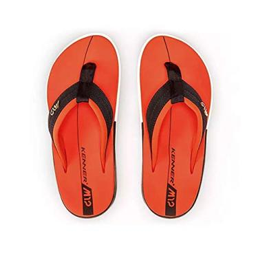 Chinelo Kenner Action Gel M12 Masculino - Laranja - 38