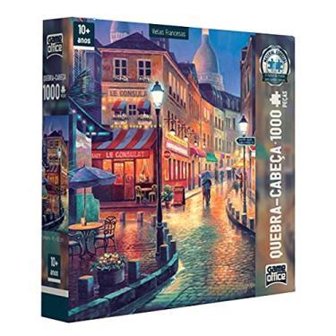 Imagem de Puzzle Quebra Cabeça 1000 Peças Vielas Francesas LE CONSULAT Toyster