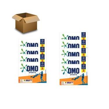 Sabão em Pó OMO Sports 1,6 kg – 9 Unidades