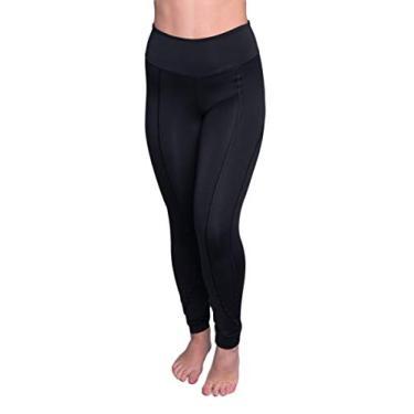 Imagem de Calça Legging Akira Fitness Feminino Montaria Cós Alto cor Preta (G)
