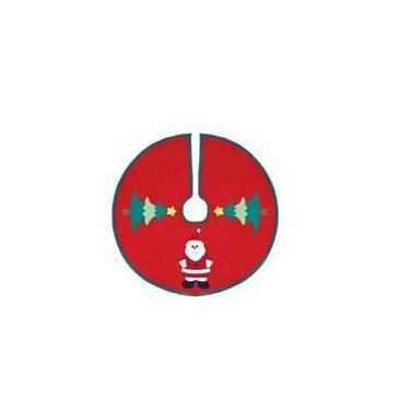 Saia Árvore De Natal Decorada Feltro 60cm Magizi 1340
