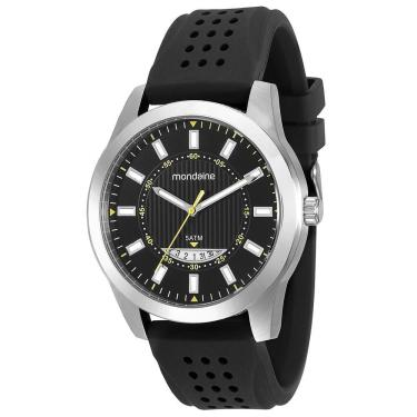 Relógio de Pulso Analógico Silicone Resistente a àgua   Joalheria ... 02349b08f2