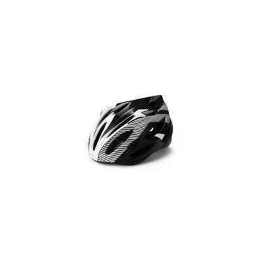 Imagem de Tamanho ajustável Capacete de ciclismo de montanha Capacete de bicicleta Ultraleve Integralmente-molde Capacete de bicicleta