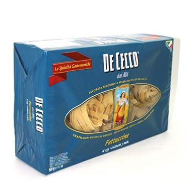 Macarrão de Trigo Grano Duro Fettuccine 223 de Cecco Pacote 500g