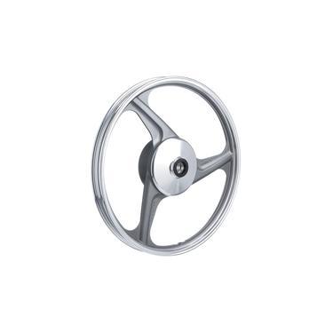Imagem de Roda Aluminio Dianteira Temco Centauro Cinza Ybr 125 Ks