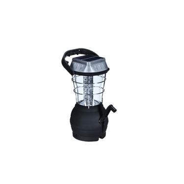 Lanterna Lampião Luminária 36 LED Recarregável Solar Elétrica Dínamo