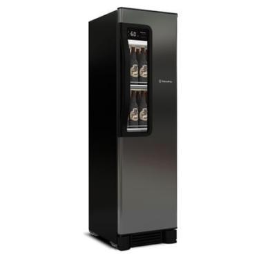 Cervejeira Vertical Metalfrio Beer Maxx 300 Porta Glass Viewer 287L Aço Inox VN28TP 220V