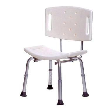 Imagem de Cadeira De Banho Para Idosos Com Encosto  - Supermedy