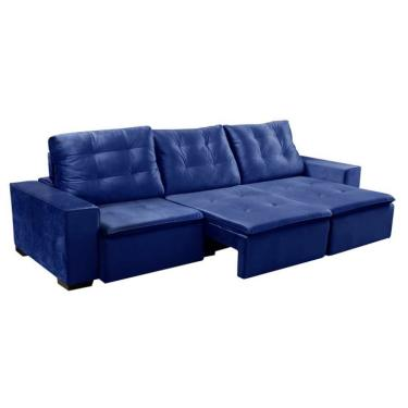 Sofa Retratil Azul Moveis E Decoracao Comparar Preco De Sofa Zoom