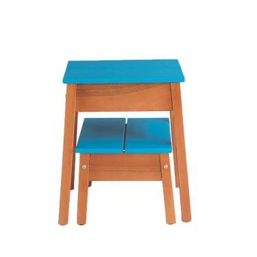 Kit Banqueta Duo azul - Wood Prime MP 10363