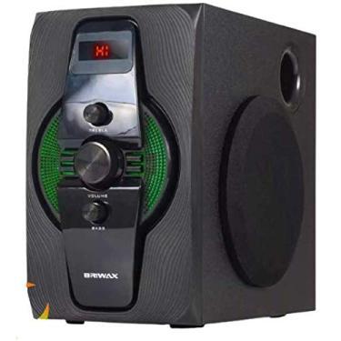 Home Theater Subwoofer 2.1 Bluetooth Caixa Som Tv Pc Potente