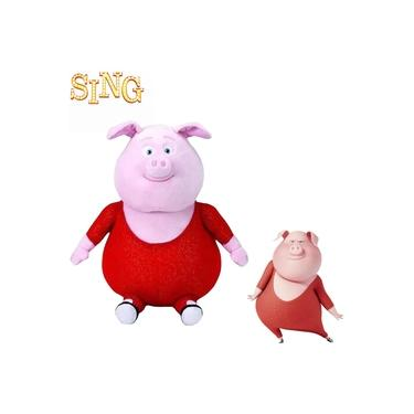 Imagem de Pelucia Sing Gunter Porco - Beanie Babies Ty 18cm