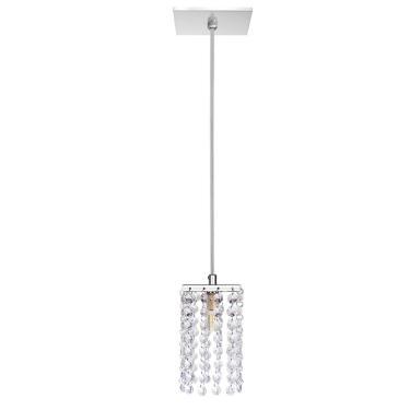Luminária Pendente Acrílico Moderno 15x8cm G9
