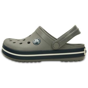 Sandália Crocs Crocband Kids Cinza  menino