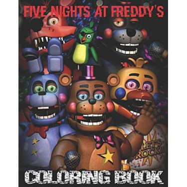 Five Nights At Freddy's Coloring Book: High Quality Five Nights at Freddy's Coloring Pages