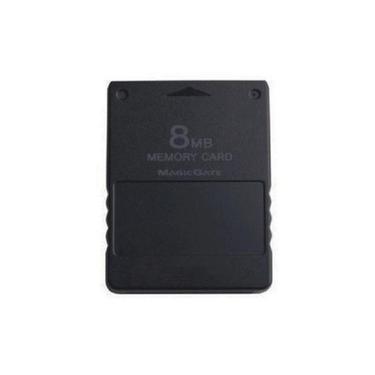 Memory Card 8Mb Playstation 2 Ps2 Cartão De Memória