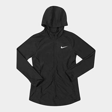 Jaqueta Nike Feminina Corta Vento Tamanho:M;Cor:Preto