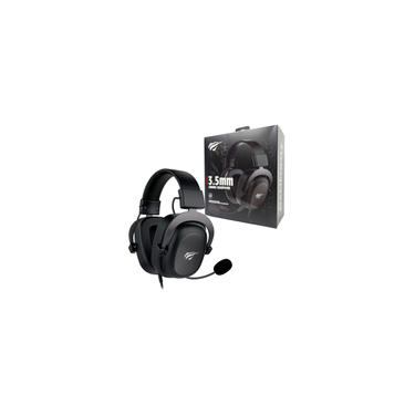 Imagem de Headset Gamer Havit H2002D Driver 53mm Preto P3 e P2 Com Microfone pc e Consoles PS4 / Xbox - HV-H2002D