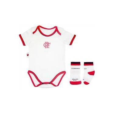 Kit Body Vivos E Meia Meia Malha Unissex Flamengo Reve Dor b9a75022ba528