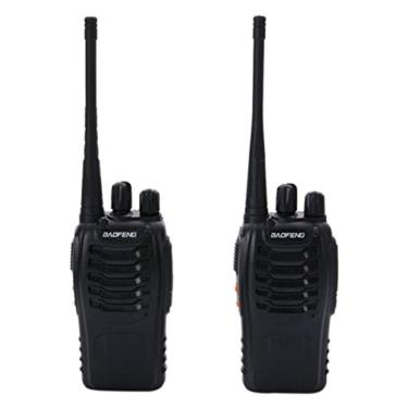 Kit 2 Rádio Comunicador Walk Talk 777s 16 Canais Fone