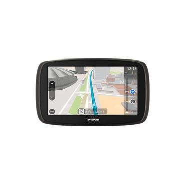"""GPS Automotivo TomTom GO 60B tela 6"""" leitor de cartão SD"""