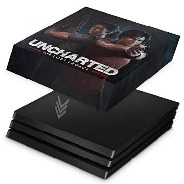 Capa Anti Poeira para PS4 Pro - Uncharted Lost Legacy