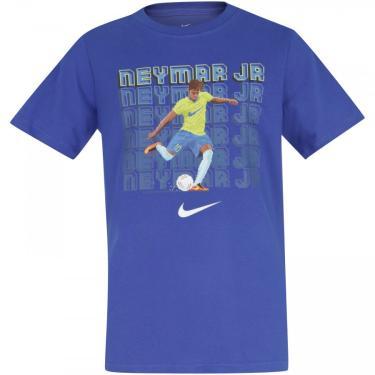 Camiseta Nike Neymar Dry Tee Soccer - Infantil Nike Masculino