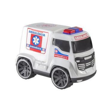 Imagem de Brinquedo Carrinho Ambulância Truck Bstoys - Bs Toys