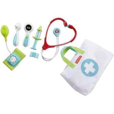 Imagem de Brinquedo Kit Médico Fisher-Price - Conjunto De Simulação De Jogo De 7 Peças
