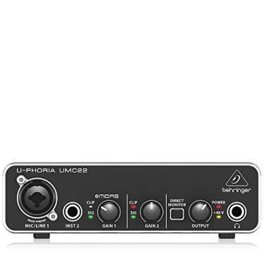 Imagem de Interface de Áudio - UMC22, Behringer