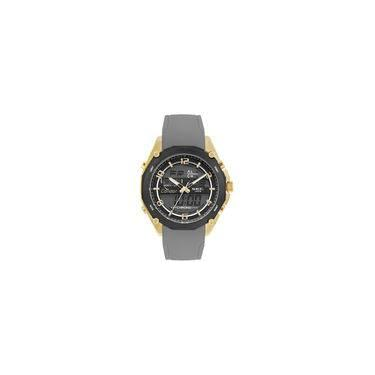 bd69fc30bd7 Relógio Condor Masculino Anadigi Dourado - Coy121e6ad 3p