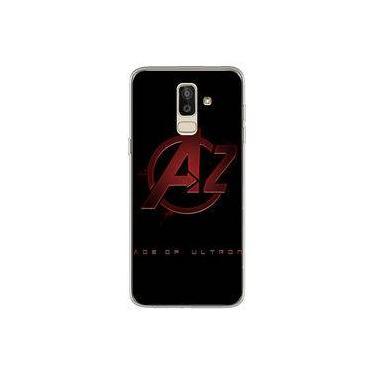 Capa para Galaxy J8 - The Avengers | Os Vingadores Logo 2
