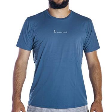 Camiseta Lupo Básica (Adulto) Tamanho: M | Cor: Azul