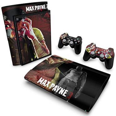 Skin Adesivo para PS3 Super Slim - Max Payne
