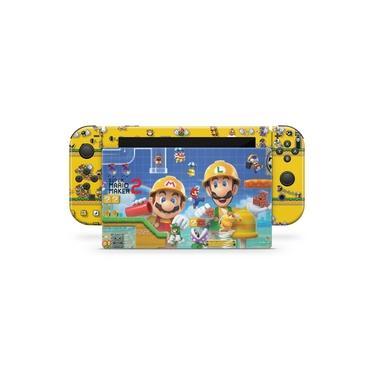 Skin Adesivo para Nintendo Switch - Super Mario Maker 2
