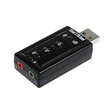 Adaptador Placa De Som 7.1 Usb Fone Microfone Pc Notebook