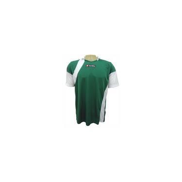 d3b7ca3d94 Jogo De Camisas Lotto Perugia Sn186 10 Peças Verdebranco