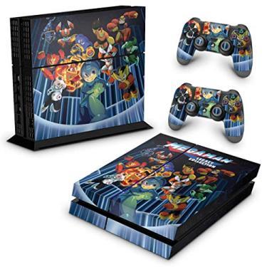 Skin Adesivo para PS4 Fat - Megaman Legacy Collection