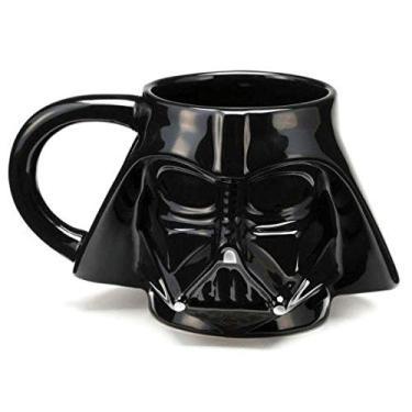 Caneca Cerâmica 3d Darth Vader - Star Wars - 350 ml