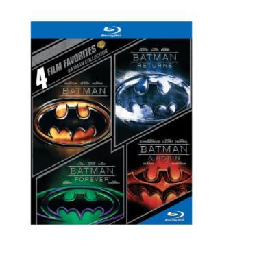 Imagem de 4 Film Favorites: Batman Collection (Batman / Batman Returns / Batman Forever / Batman & Robin) [Blu-ray]